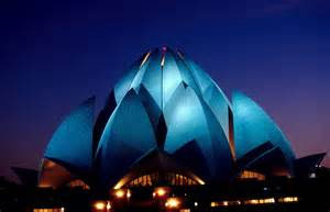 Images of the Lotus Temple