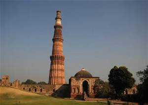 Qutub-Minar, a  UNESCO World Heritage Site