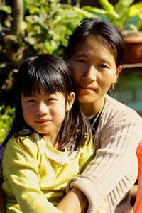 Nagaland Mother and child