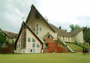 A Church in Kohima City