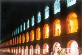 The Sound and Light Show in the Cellular Jail