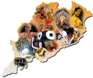 CULTURAL MAP OF ODISHA