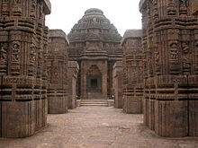 Konark Sun Temple, inside view