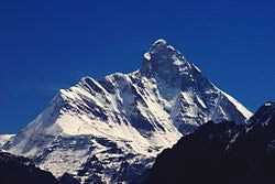 NANDA  DEVI  MOUNTAIN  PEAK